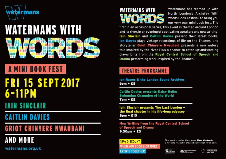 Watermans With Words Side By Side Flyer