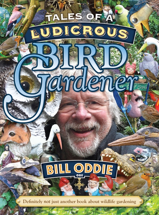 Tales of a Ludicrous Bird Gardener - front cover